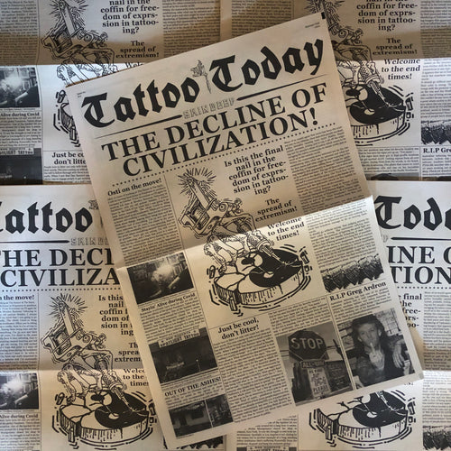 Tattoo Today #4 - Newspaper