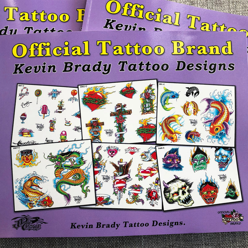 Official Tattoo Brand - Kevin Brady Tattoo Designs