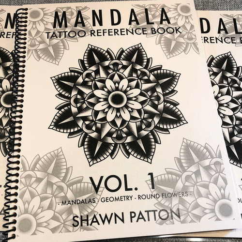 Shawn Patton - Mandala Tattoo Reference Book Vol. 1