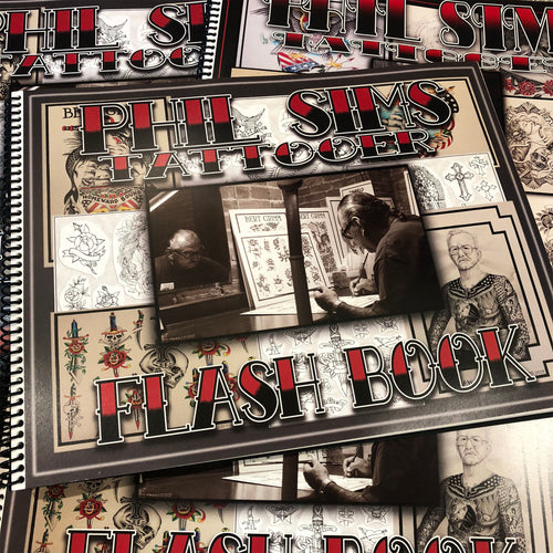 Phil Sims Tattooer - Flash Book #2