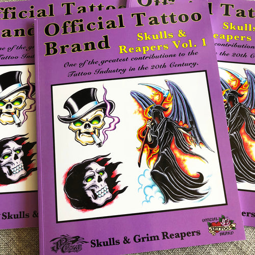 Official Tattoo Brand - Skulls & Reapers Vol. 1