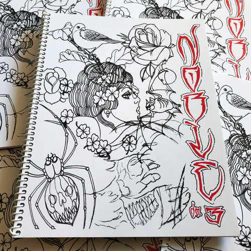 Todd Noble - Sketchbook Volume 3