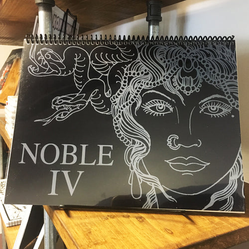 Todd Noble - Sketchbook Volume 4