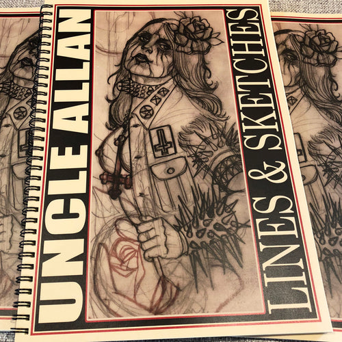 Uncle Allan - Lines & Sketches