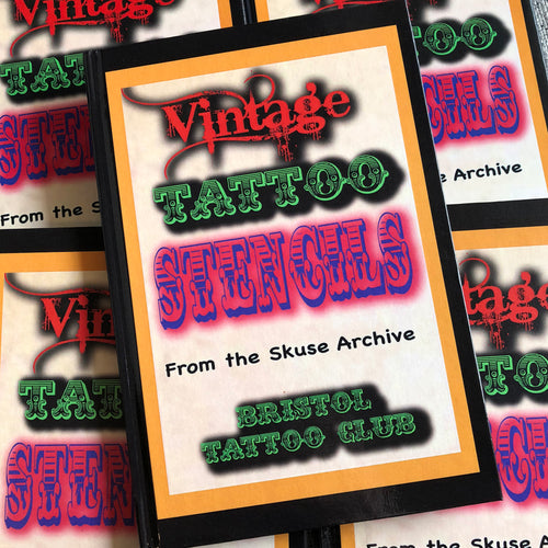 Bristol Tattoo Club - Vintage Tattoo Stencils from the Skuse Archive