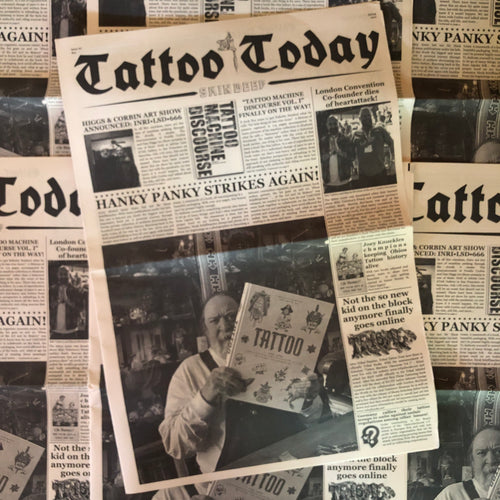 Tattoo Today #6 - Newspaper