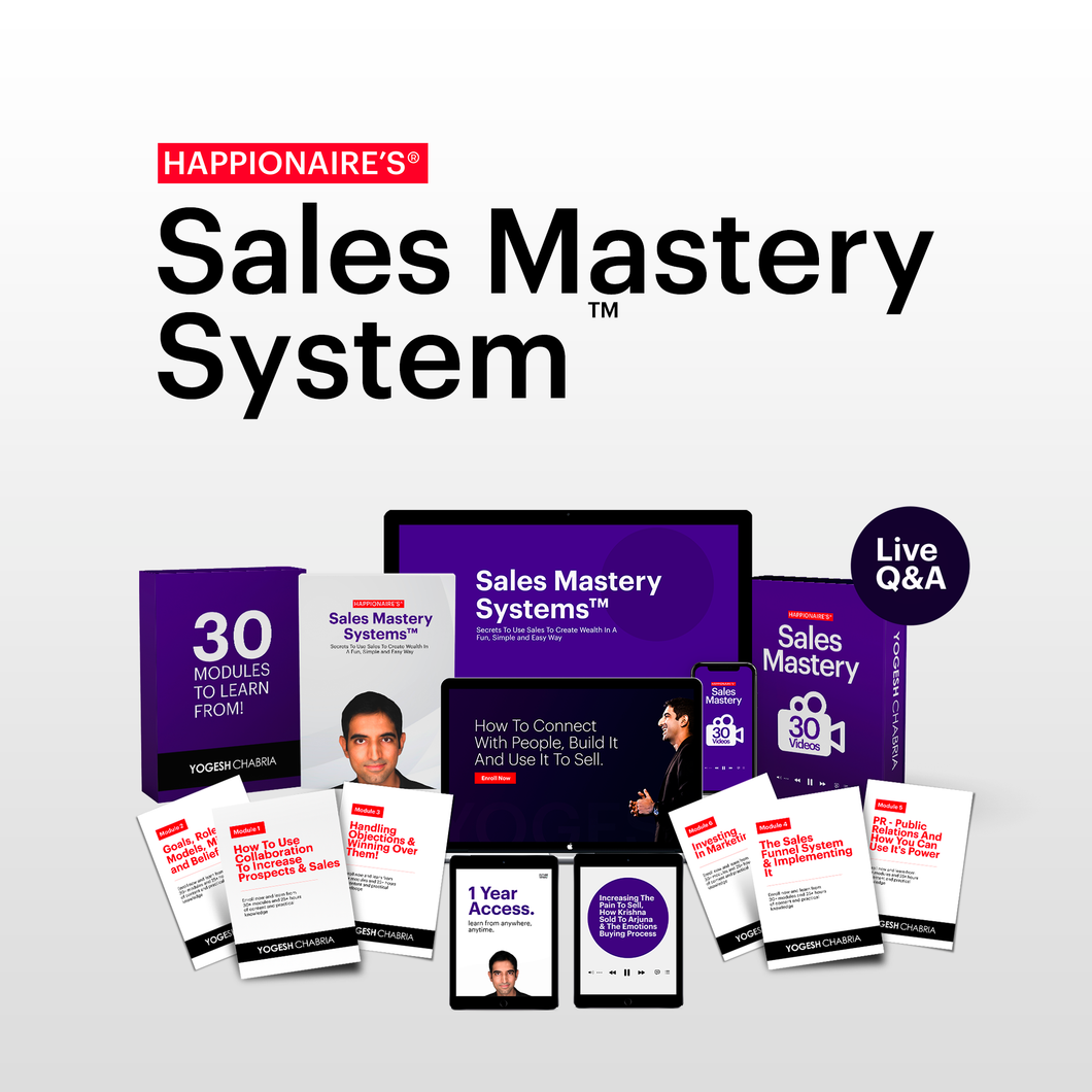 Happionaire's® Sales Mastery Systems™ - Happionaire®