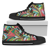 Funky Pattern High Tops
