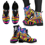 Wolf and Buddha LSD Boots