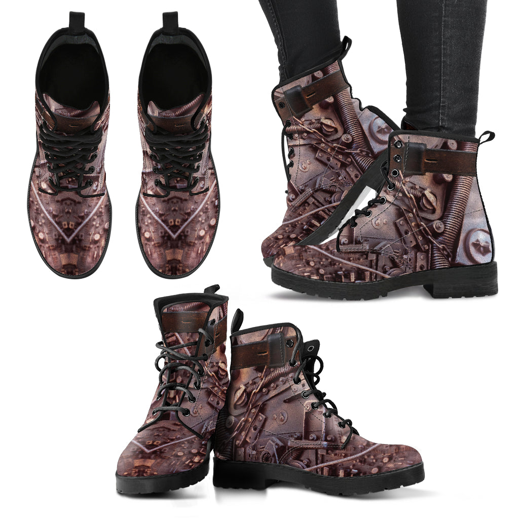 Copper Steampunk Boots