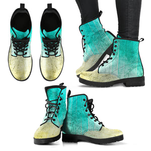 Grunge Fade Boots