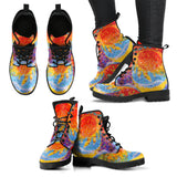 Pixelated Sky Boots