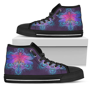Geometric Butterfly High Tops