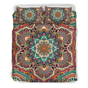 Ornamental Mandala Bedding Set