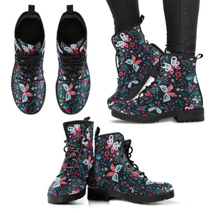 Butterfly Pattern 2 Boots