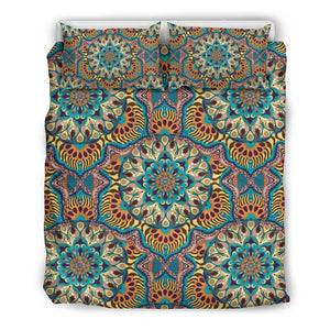 Ornamental Mandala V2 Bedding Set