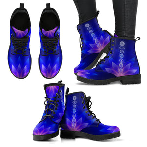 Violet Glow Chakra Boots