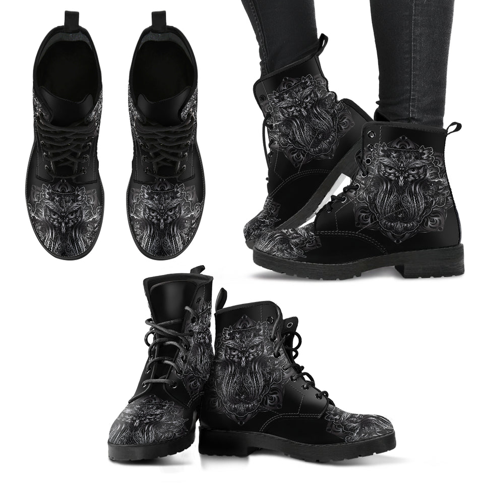Cool Owl Boots