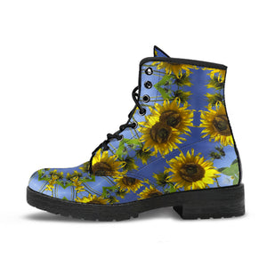 Sunflower Kaleidoscope Boots