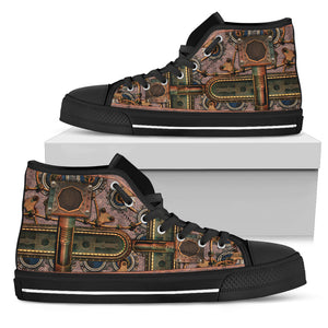 Steampunk Pipe High Tops