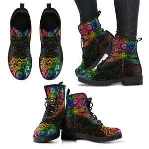 Rainbow Dragonfly Boots