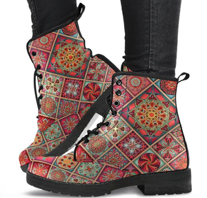 Diamond Mandala Boots