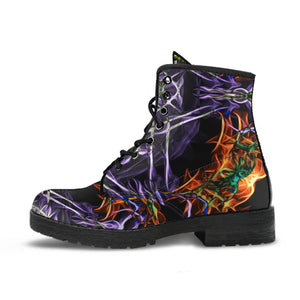 Cosmic Revelation Leather Boots
