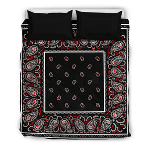 Wicked Black Bedding Set