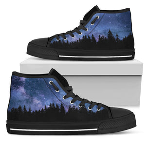 Nocturnal Woods High Tops
