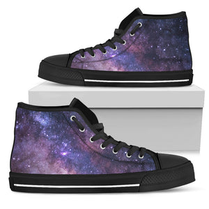 Purple Galaxy High Tops