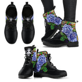 Purple Roses Boots