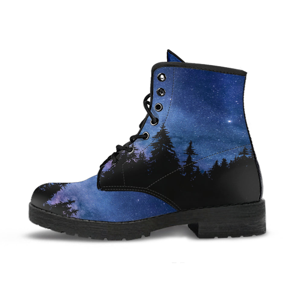 Nocturnal Woods Leather Boots