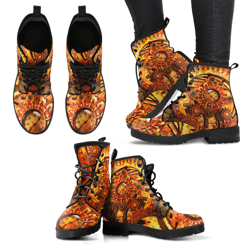 Steampunk Machine Boots