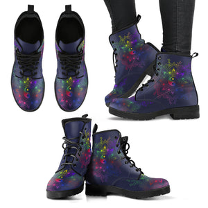 Colorful Yin Yang Boots