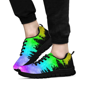 Rainbow Galaxy Woods Sneakers