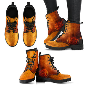 Golden Steampunk Boots