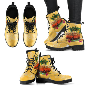 Tropical Hippie Bus Boots