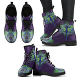 Vibrant Dragonfly Boots