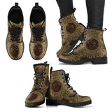 Gold Brown Sun Boots