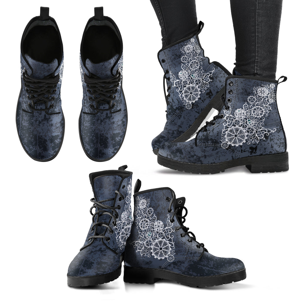 Abstract Steampunk Boots