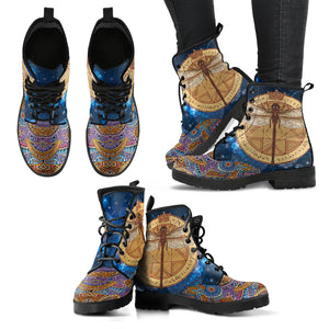 Psychedelic DragonFly Boots