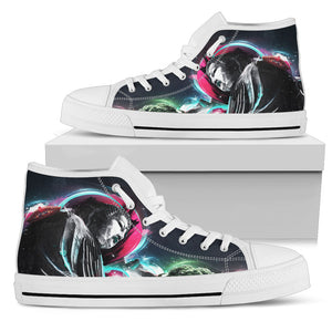 Buddha Pop Art High Tops