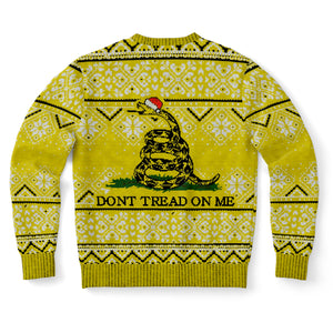 Don't Tread On Me Ugly Christmas Sweatshirt