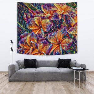 Floral Art Tapestry
