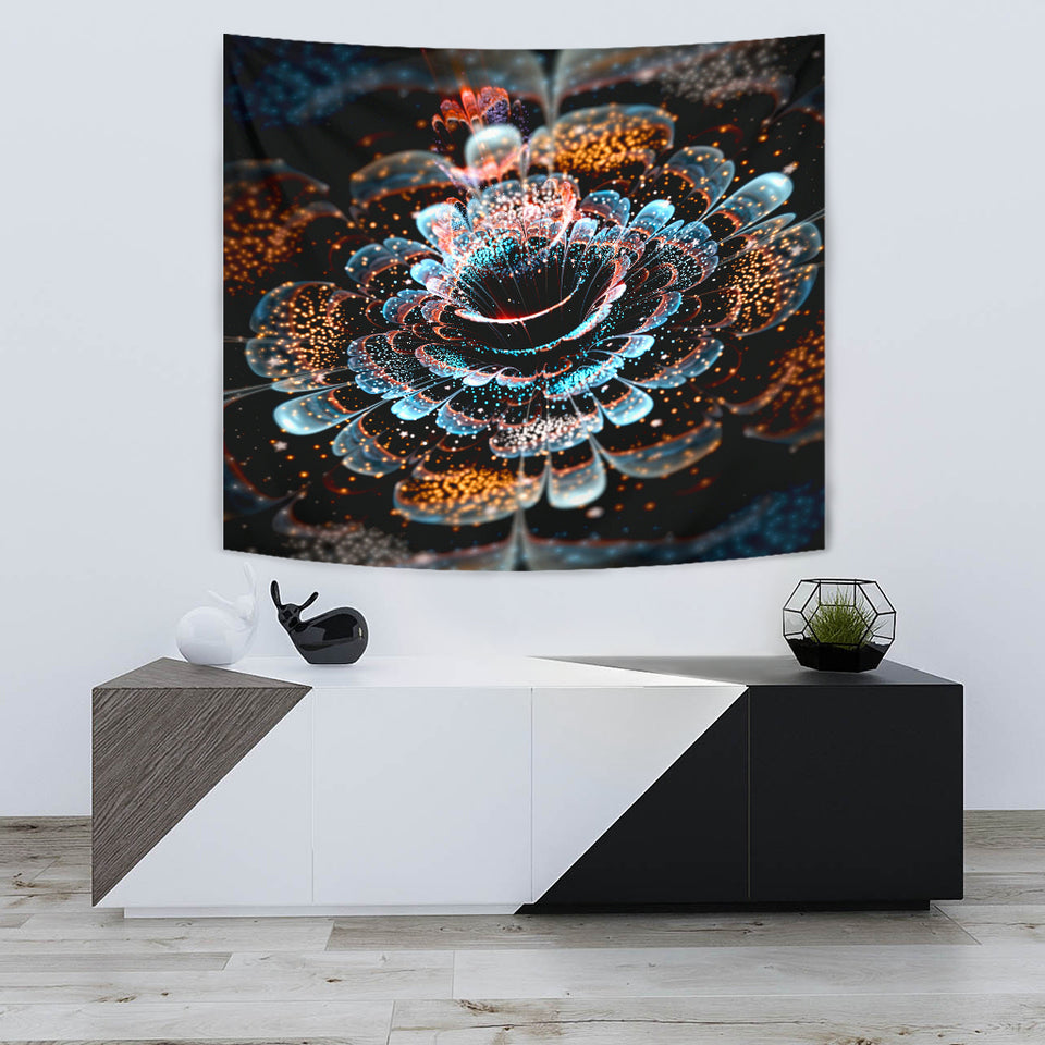 Magical Flower Tapestry