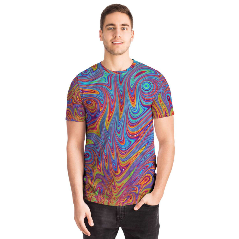 Colorful Fractal Swirls Shirt