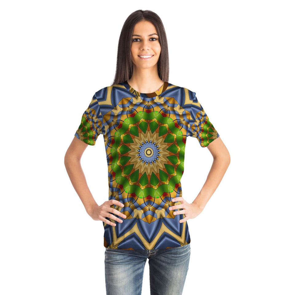 Kaleidoscopic Mandala T-shirt