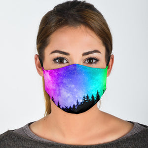 Neon Woods Face Mask