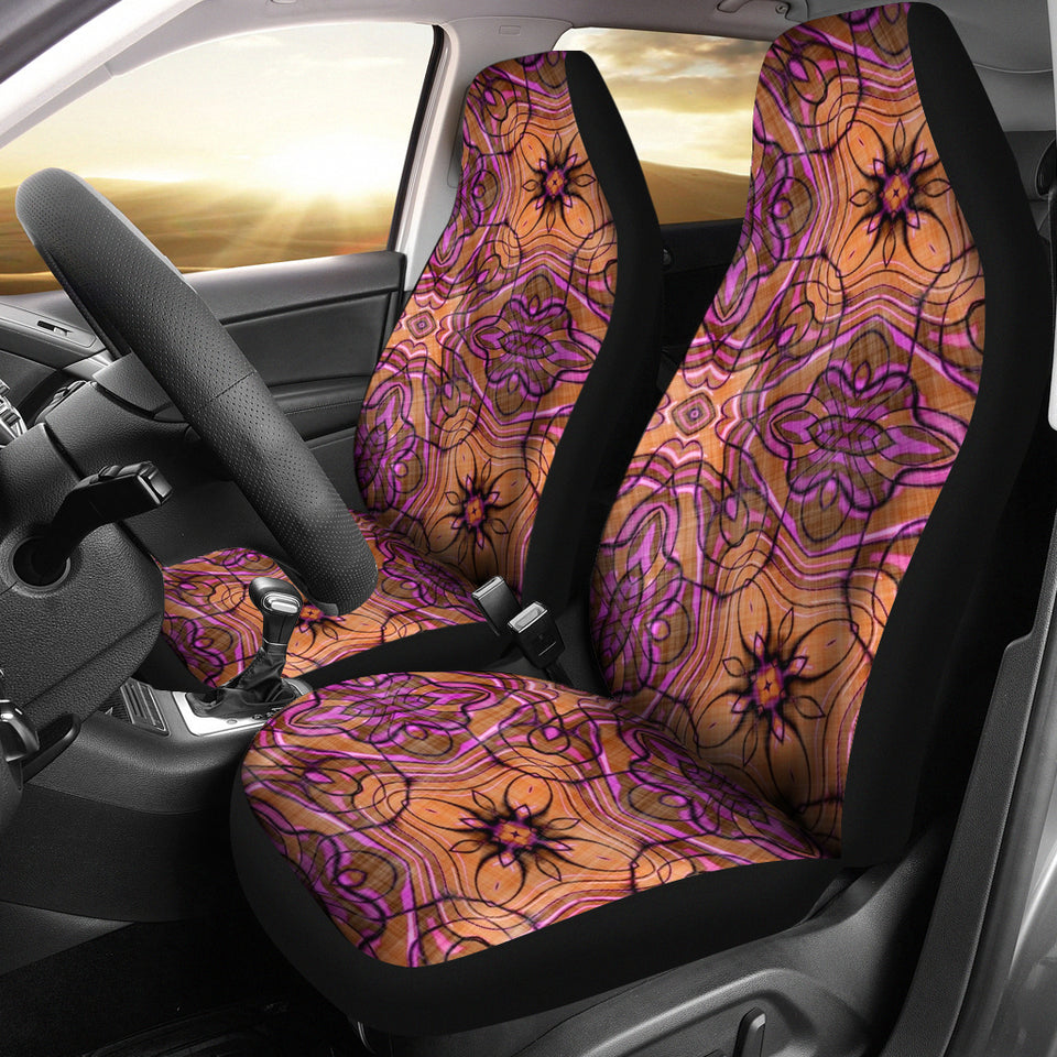 Fractals Car Seat Covers