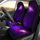 Purple Galaxy Car Seat Covers